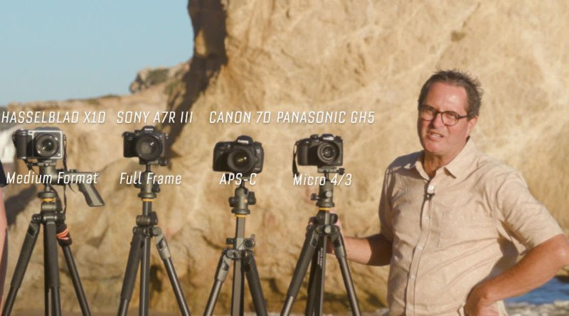 A Comparison of Camera Sensor Sizes in Photography