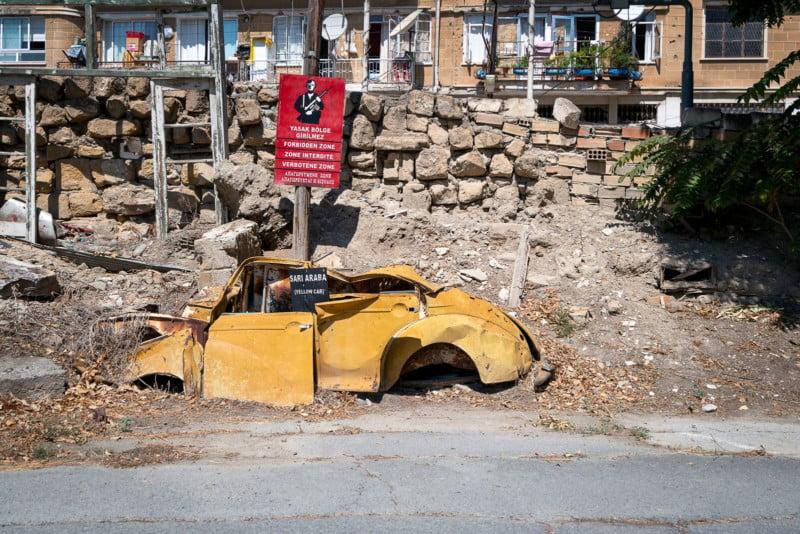 Cyprus Un Buffer Zone