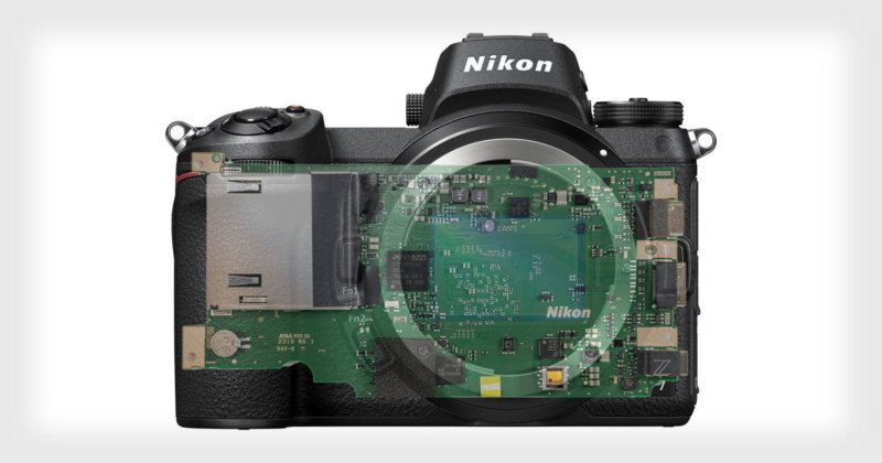 Nikon Z7 Teardown: Inside Nikon's 1st Full-Frame Mirrorless Camera