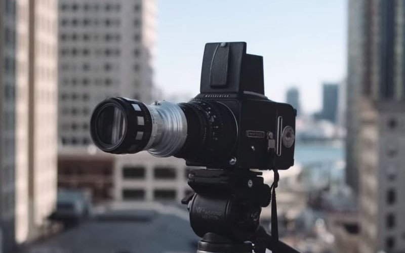 This Photographer Built Himself a DIY Hasselblad Xpan