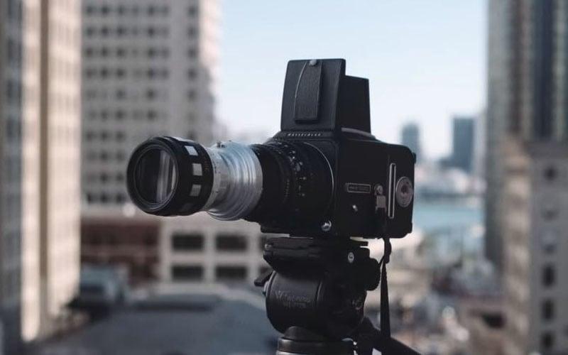 This Photographer Built Himself a DIY Hasselblad Xpan