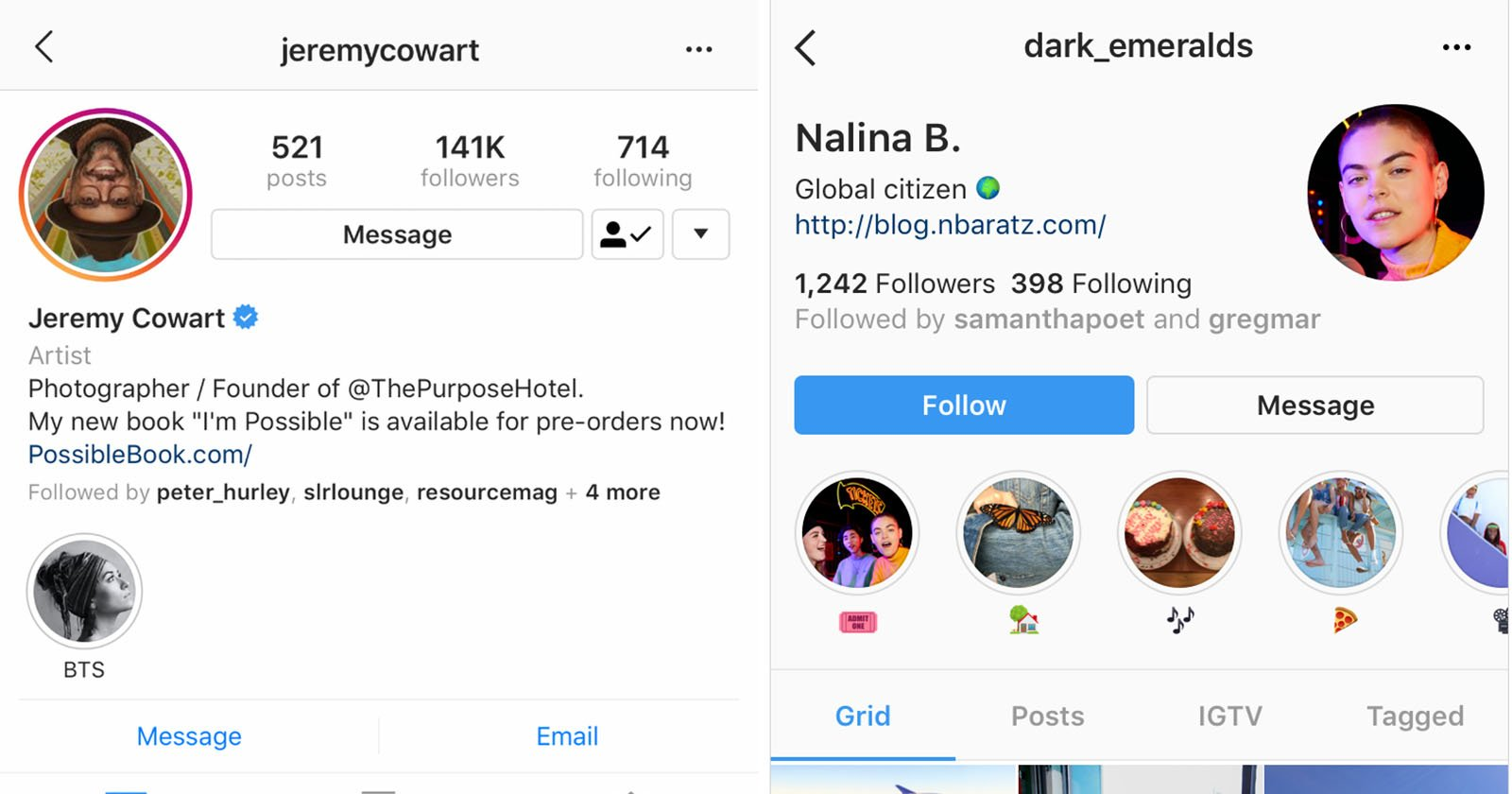 Instagram Redesigns Profiles to Focus Less on Follower Count