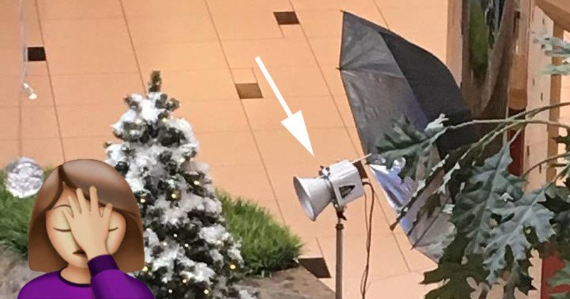 How NOT to Use a Reflective Umbrella