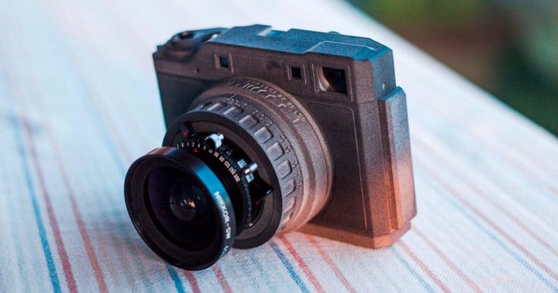 Panomicron Holmium: A Homemade 6×7 Rangefinder Camera