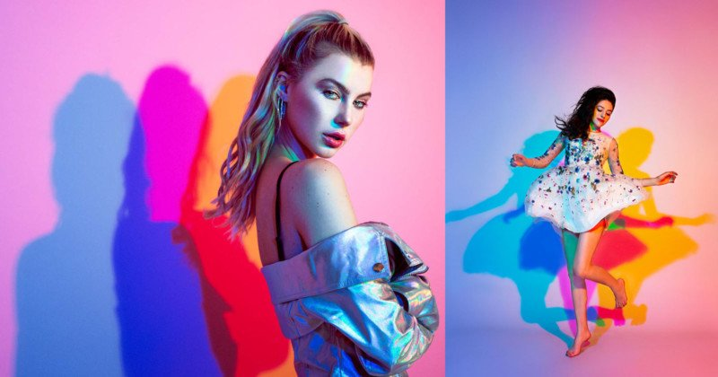 How to Shoot Portraits with Colored Shadows
