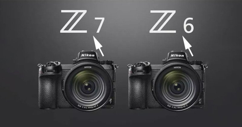 Nikon: It's the Z 6 and Z 7, Not Z6 and Z7