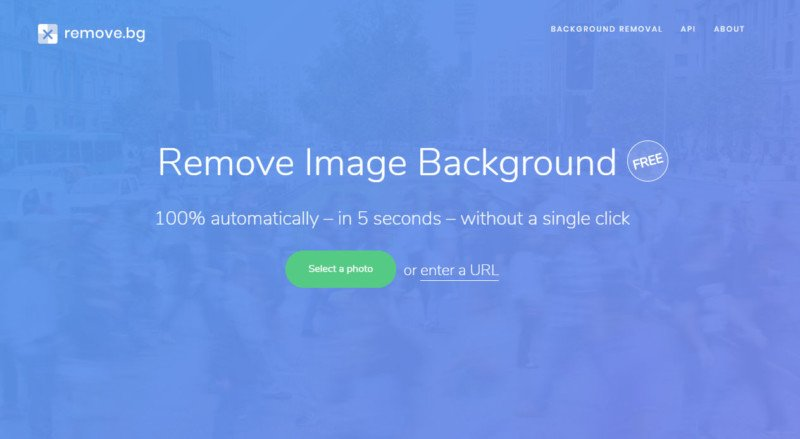 Remove Bg Is A Website That Removes Backgrounds From Portraits In Seconds
