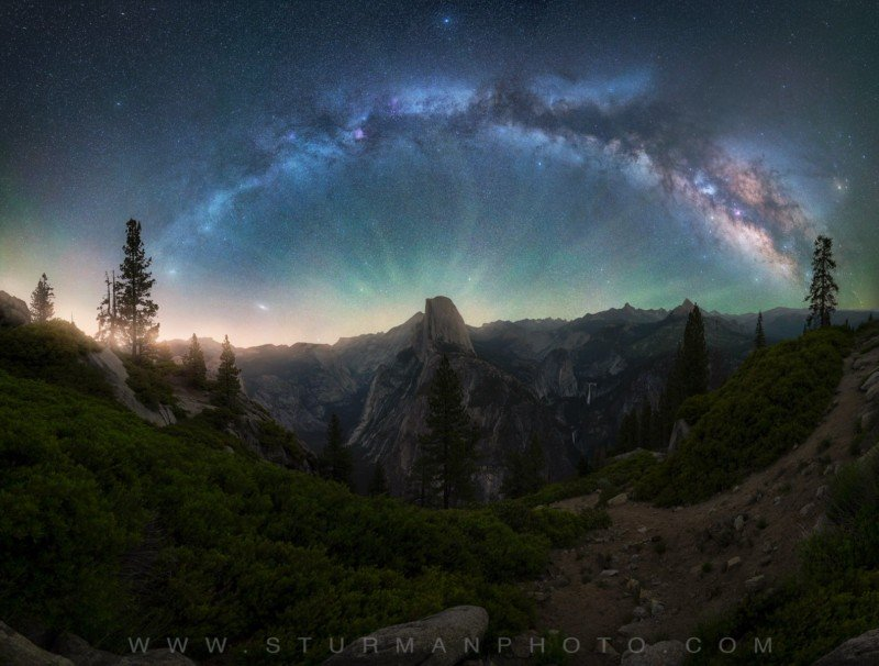Capturing the Milky Way Over