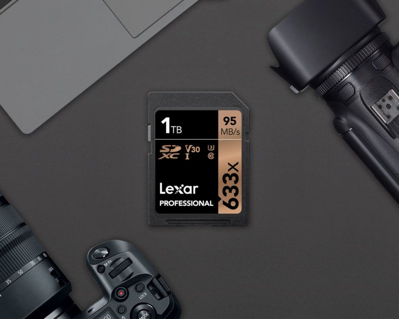 Lexar reveals the first 1TB SD card you can actually buy