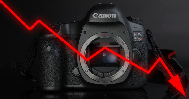 Canon Sees the Digital Camera Market Plunging by 50% in Next Two Years