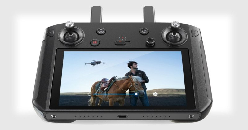 DJI's New Smart Controller Remote Has a Built-In 5 5