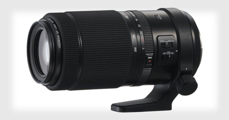 Fujifilm Unveils 100-200mm f/5.6 OIS Lens for GFX Medium Format