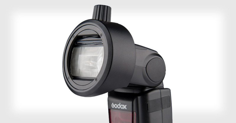 Godox's S-R1 Adapter Lets You Mount Round Magnetic Modifiers on Flashes