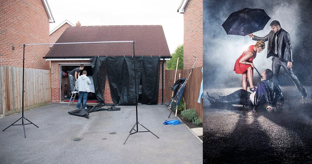 Wie man eine $ 30 DIY Rain Machine baut (und wie man damit schießt)