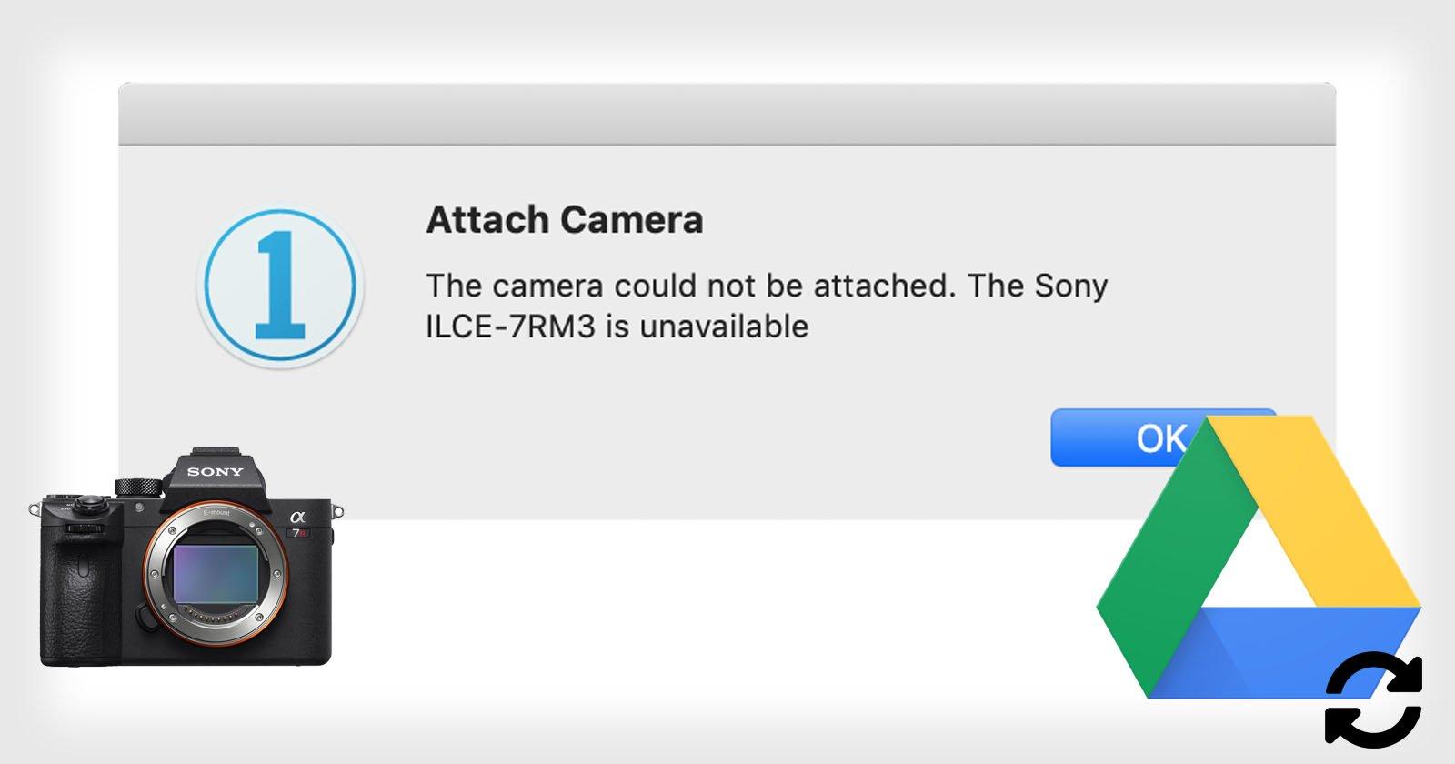 Kamera bindet nicht, um eins aufzunehmen? Cloud-Dateisynchronisierung ist möglicherweise Schuld