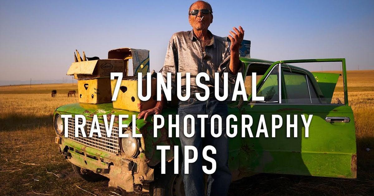 7 Tipps zur Reisefotografie, die Sie normalerweise nicht hören