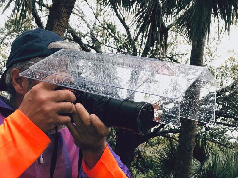 Camera Canopy Puts a Roof Over Your Camera to Keep it Dry