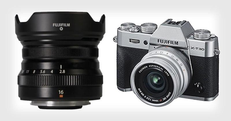 Fujifilm Unveils the XF 16mm f/2.8 R WR Lens