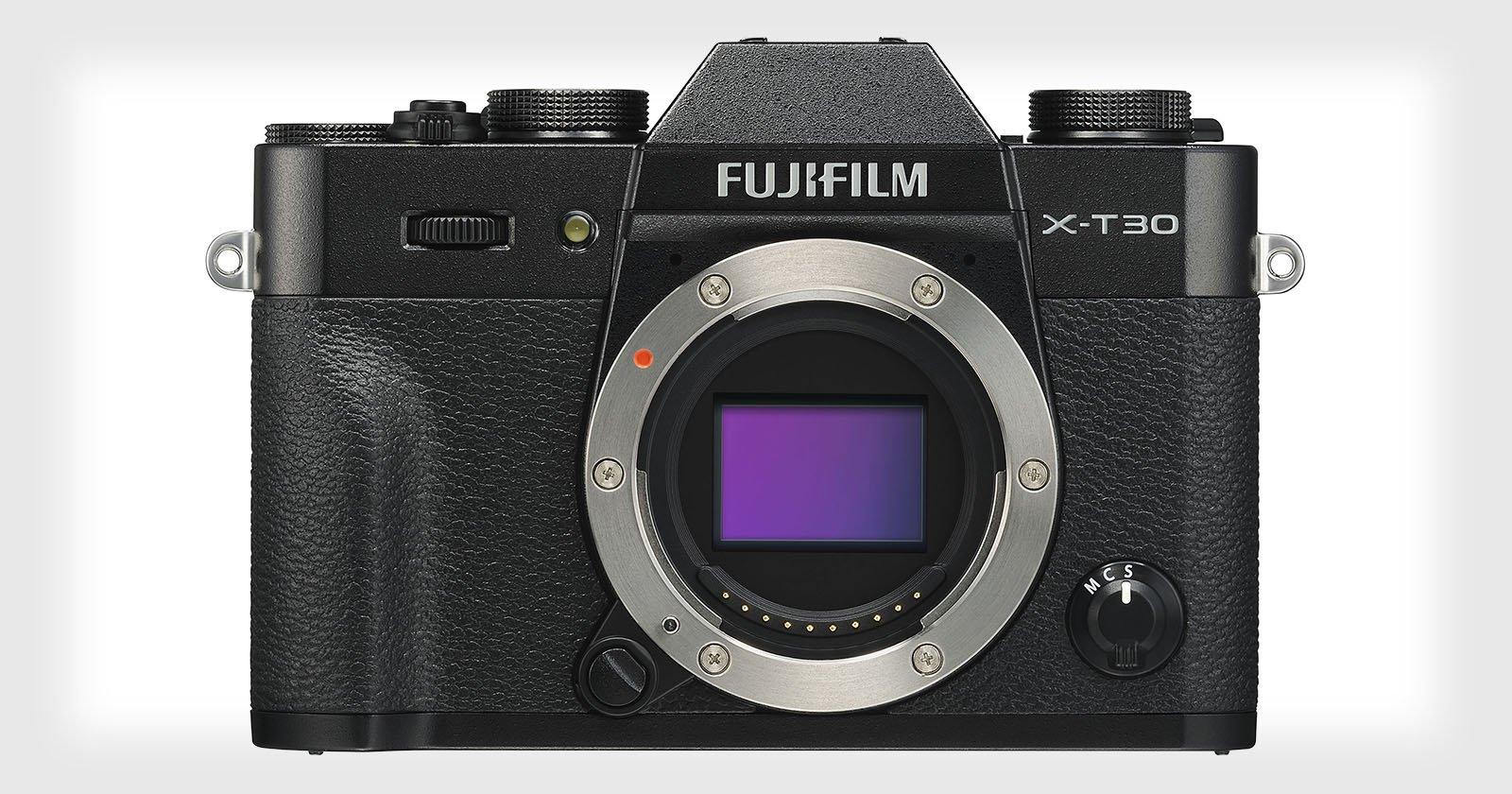 Fujifilm Unveils the X-T30: A Light 4K Camera for $899