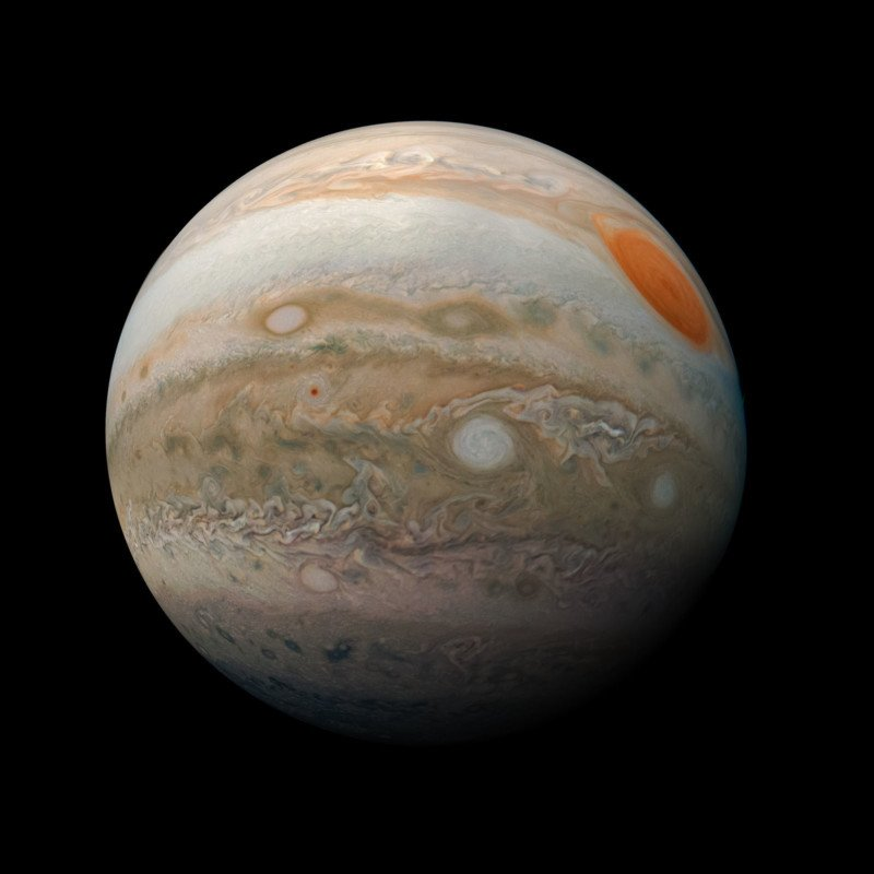 New Photos of Jupiter Show the Planet from Fresh Perspectives