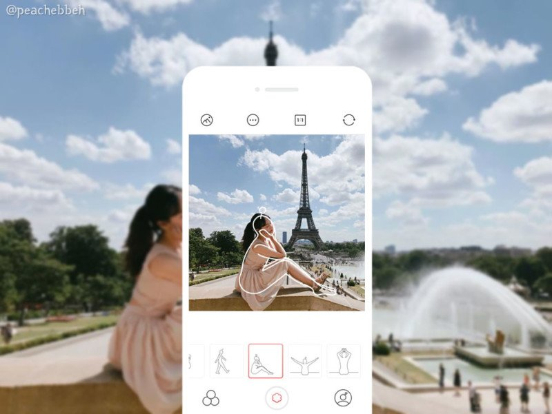 This App Uses a Camera Overlay as a Guide for Instagram