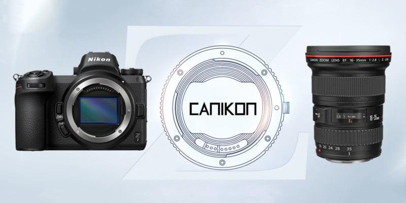 World First 'CANIKON' Autofocus Lens Adapter Coming from KIPON