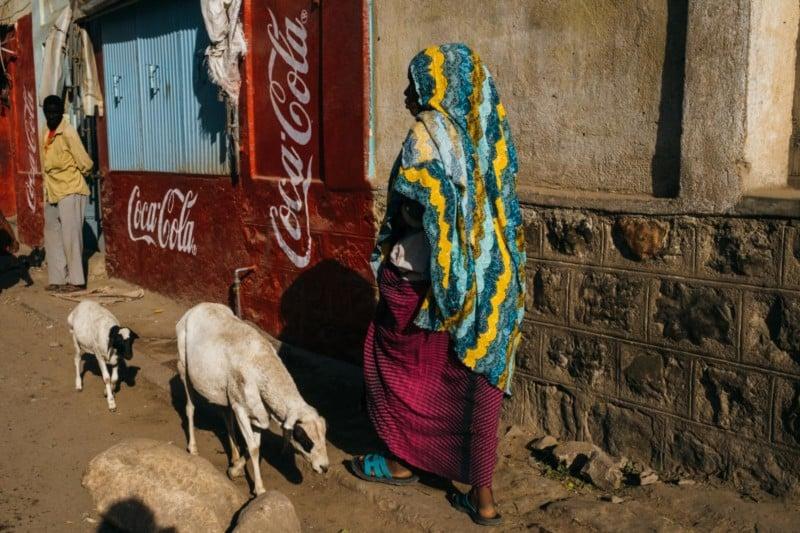 Shooting Street Photos in Ethiopia