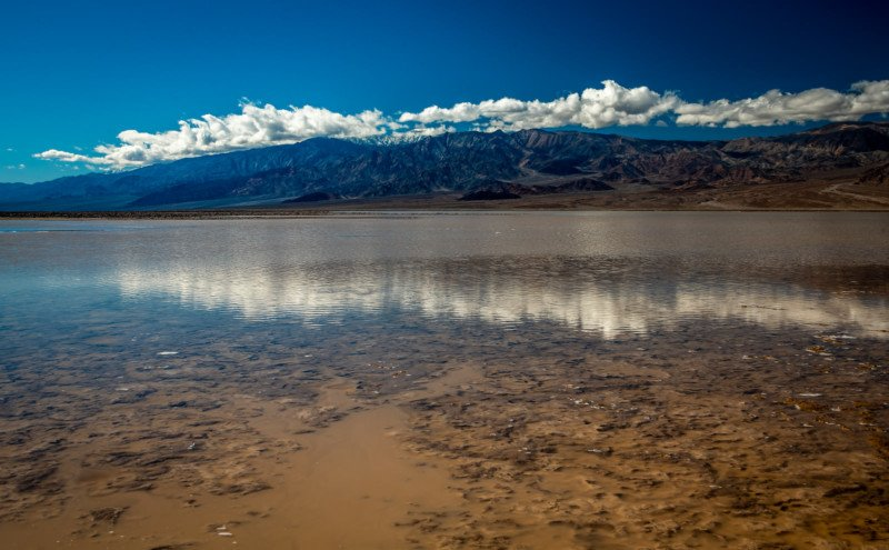 Photos of Death Valley Flooded with a 10-Mile Lake