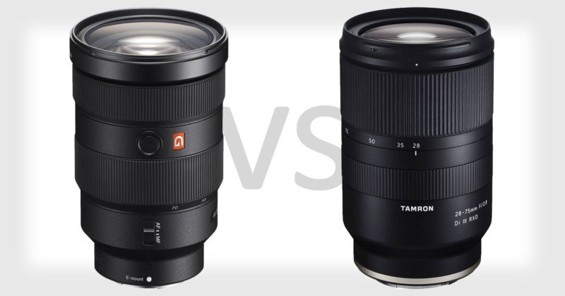 $2,200 Sony FE 24-70mm f/2.8 GM vs $880 Tamron 28-75mm f/2.8