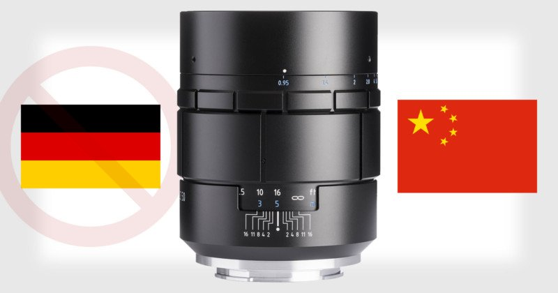 Meyer Optik Gorlitz Admits Nocturnus was a Modified Chinese Lens