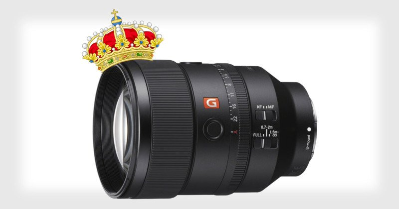 Sony's FE 135mm f/1.8 GM May Be the Sharpest Lens of Its Kind