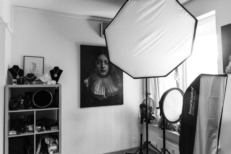 Dentro de mi estudio fotográfico