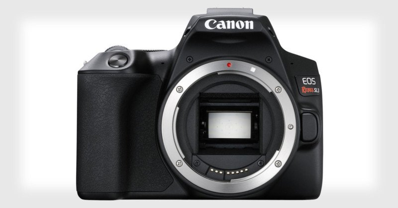 Canon continues to shrink its DSLRs with the EOS Rebel SL3