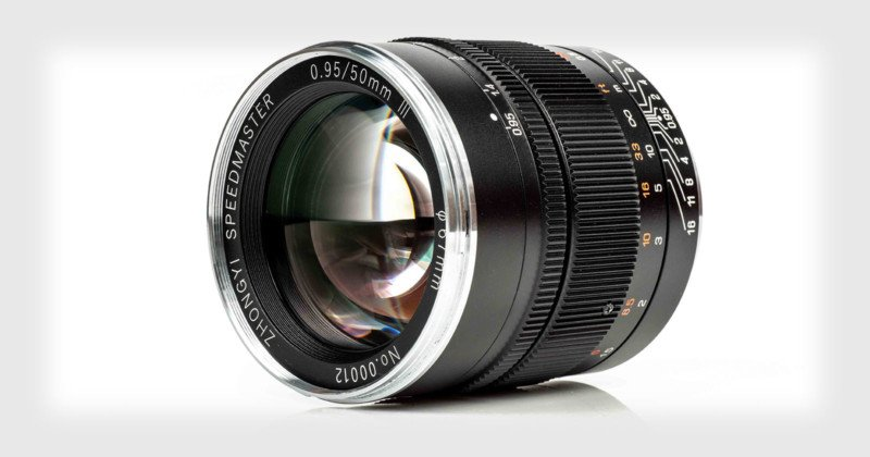Mitakon Speedmaster 50mm f/0.95 III Unveiled for Full-Frame Mirrorless