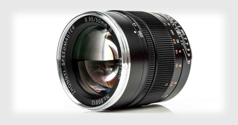 Mitakon Speedmaster 50mm f/0.95 III Unveiled for Full-Frame Mirrorless