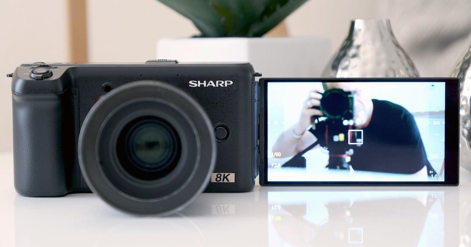 Hands-On with Sharp's Sub-$5,000 8K Mirrorless Camera