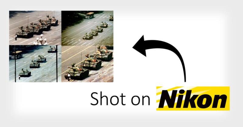 Sorry, Leica: 'Tank Man' was Shot on Nikon