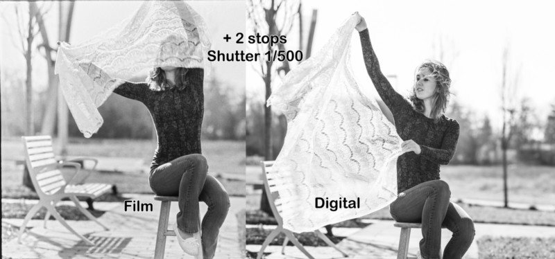 Film vs. Digital: This is How Dynamic Range Compares