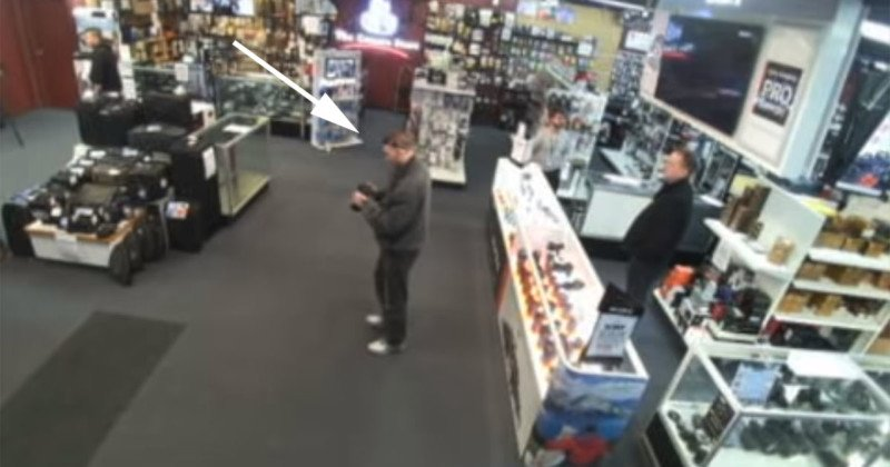 The Camera Store Staff Attacked with Bear Spray in Robbery