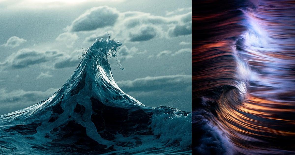 The Beauty of Ocean Waves Captured by Photographer Warren Keelan
