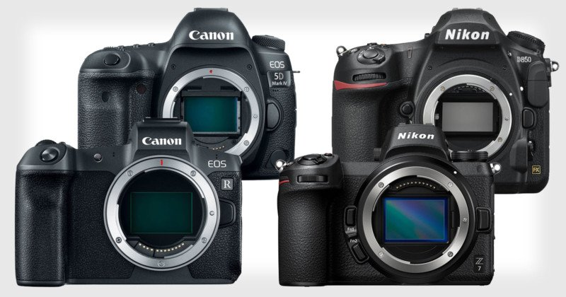Canon and Nikon Imaging Sales Drop 17%+ Over Past Year