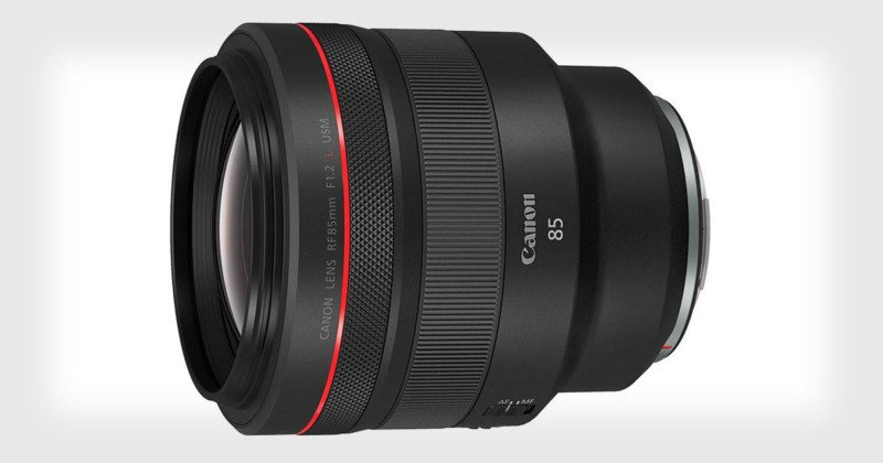 Canon Unveils the  RF 85mm f/1.2L, Its Go-To Mirrorless Portrait Lens