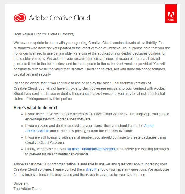 adobe creative cloud download previous versions