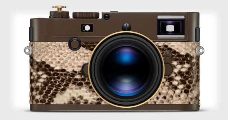 Lenny Kravitz Designed a $24K Leica with Faux Python Skin