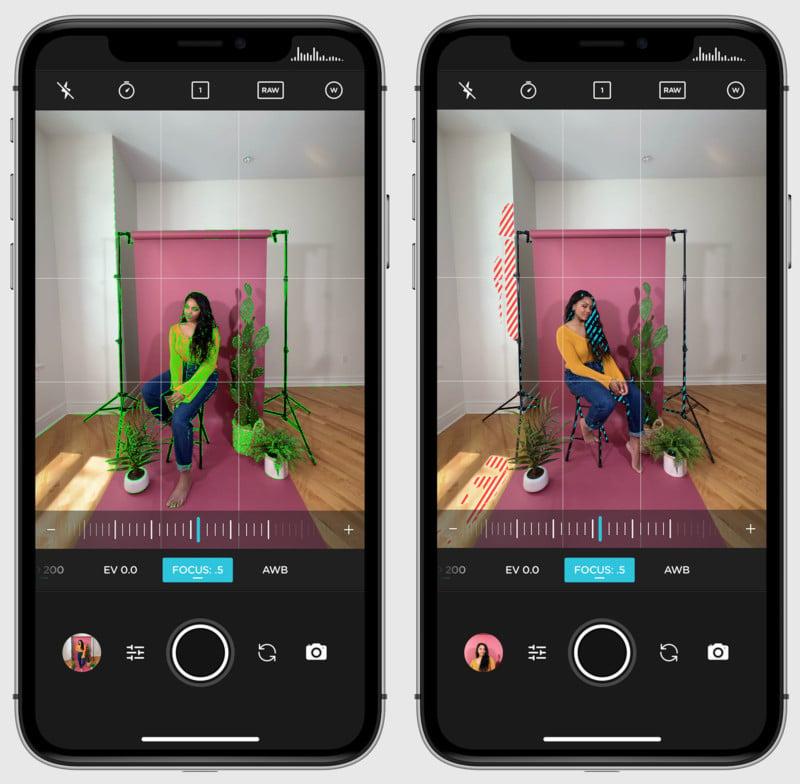 Moment Pro Camera App Update Adds Zebra Stripes and Focus