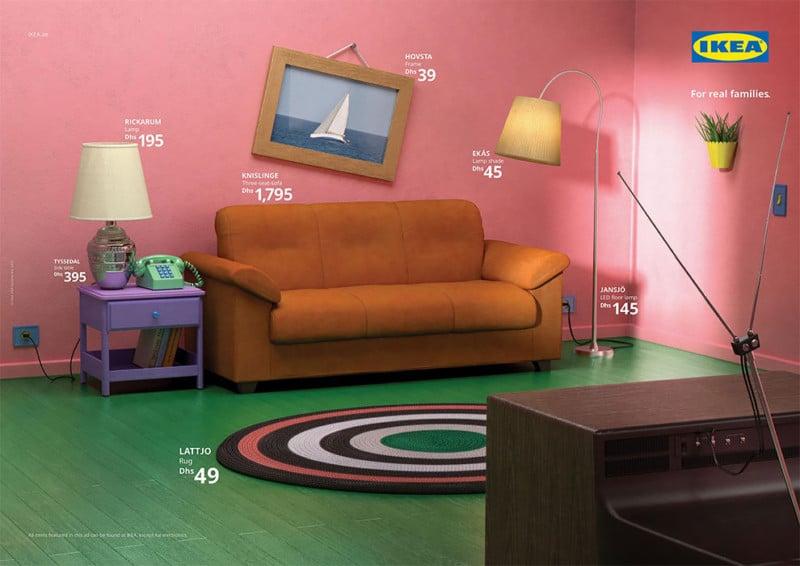 Ikea Recreates Rooms In Simpsons Friends Stranger Things