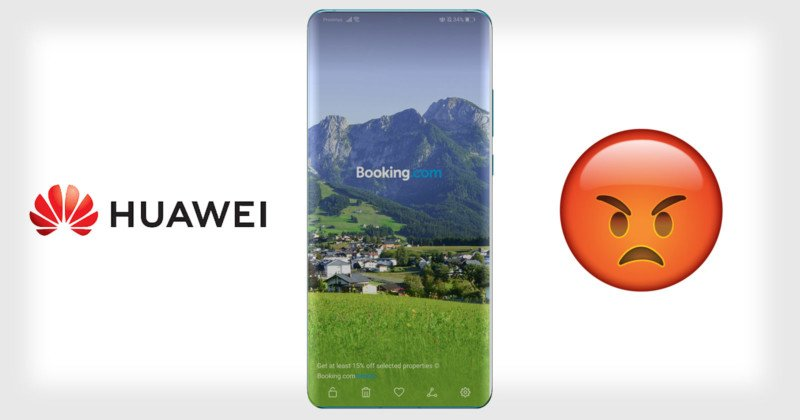 Huawei Users Angry After Ads Quietly Show Up as Lockscreen Photos