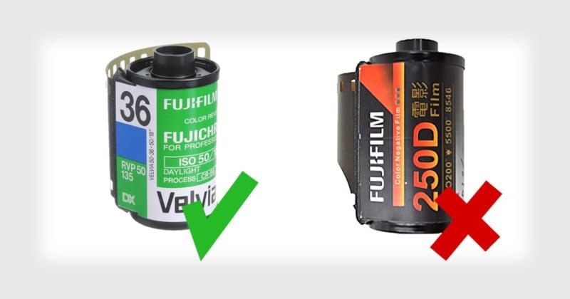 Fujifilm Warns of Fake Fujifilm Film That Can Mess Up Photo Labs