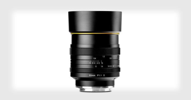 Kamlan 50mm f/1 1 II is a $250 'Bokeh Beast' for APS-C Mirrorless