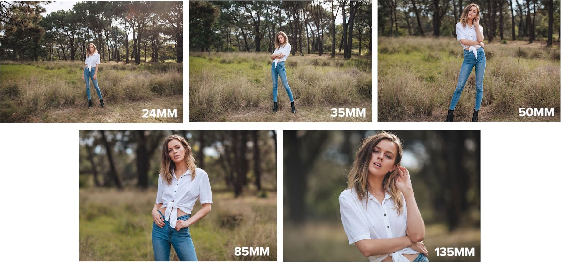 Prime Lens Portrait Shootout: 24mm vs 35mm vs 50mm vs 85mm
